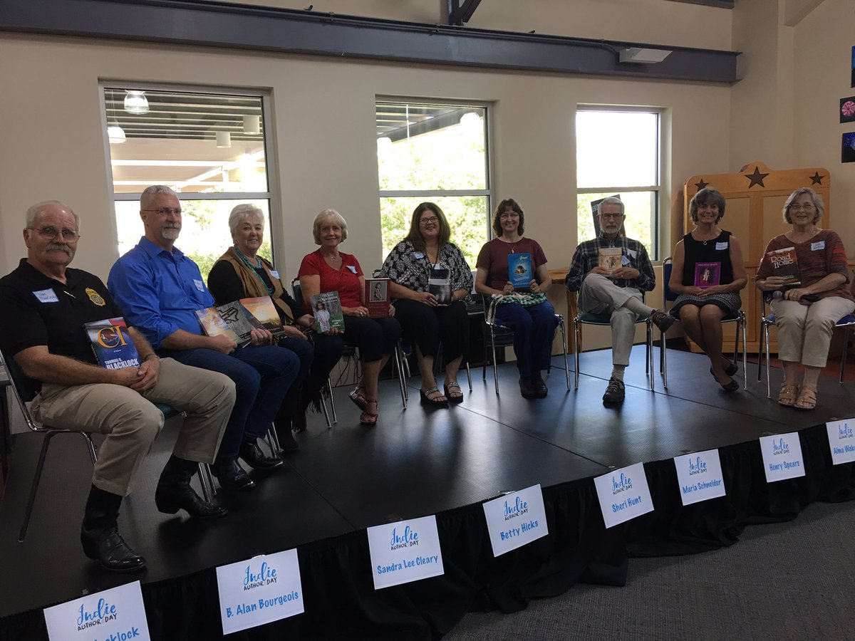 Belverde Public Library Indie Author Day