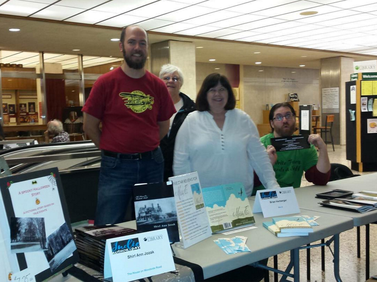 Buffalo Library Indie Author Day