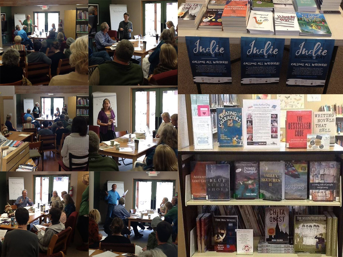 Shuter Library Indie Author Day