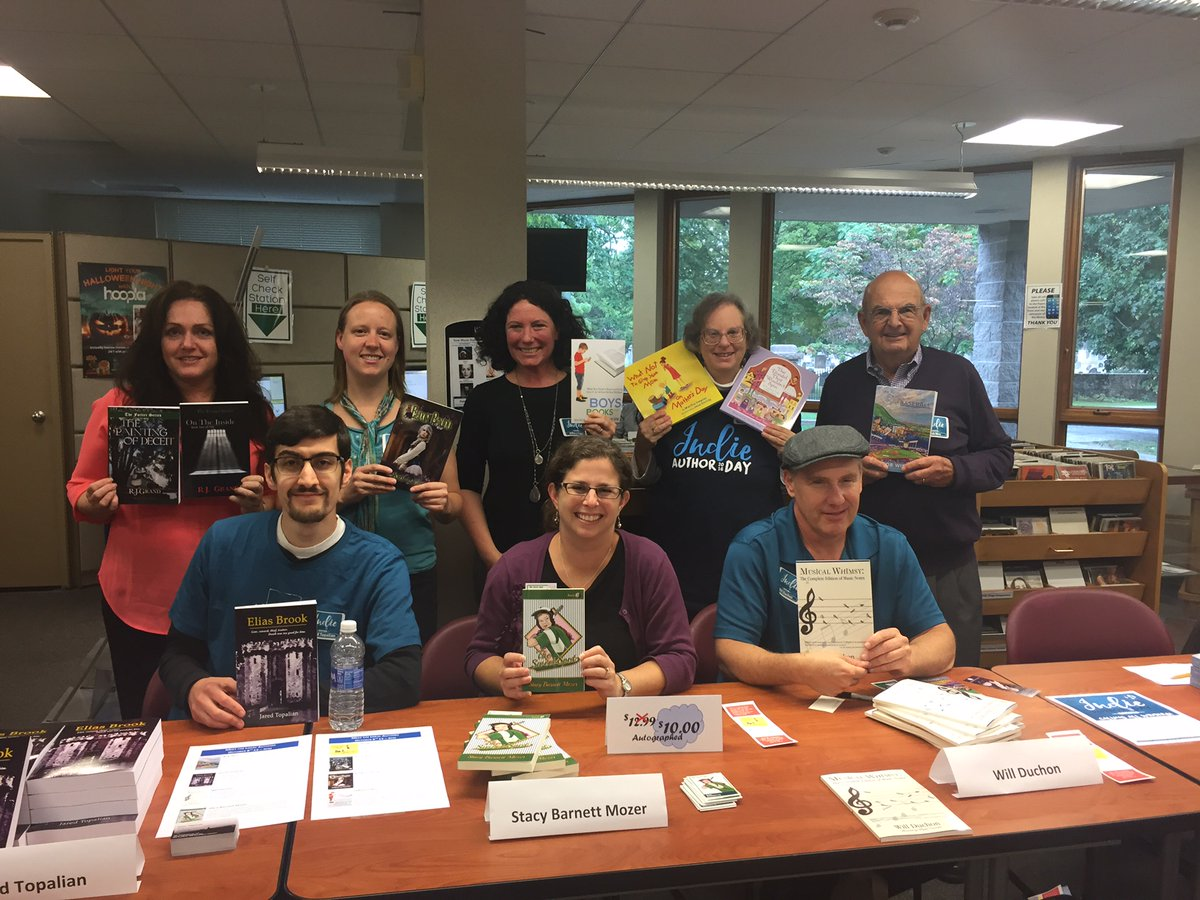 Stratford Library Indie Author Day